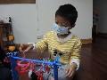 學習區活動:扮演區(洗衣組玩具組裝)