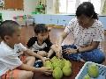 親愛一家人:柚子遊戲(數數、大小、堆疊)